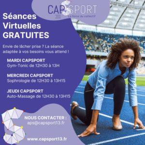Read more about the article Séances Virtuelles Gratuites Capsport