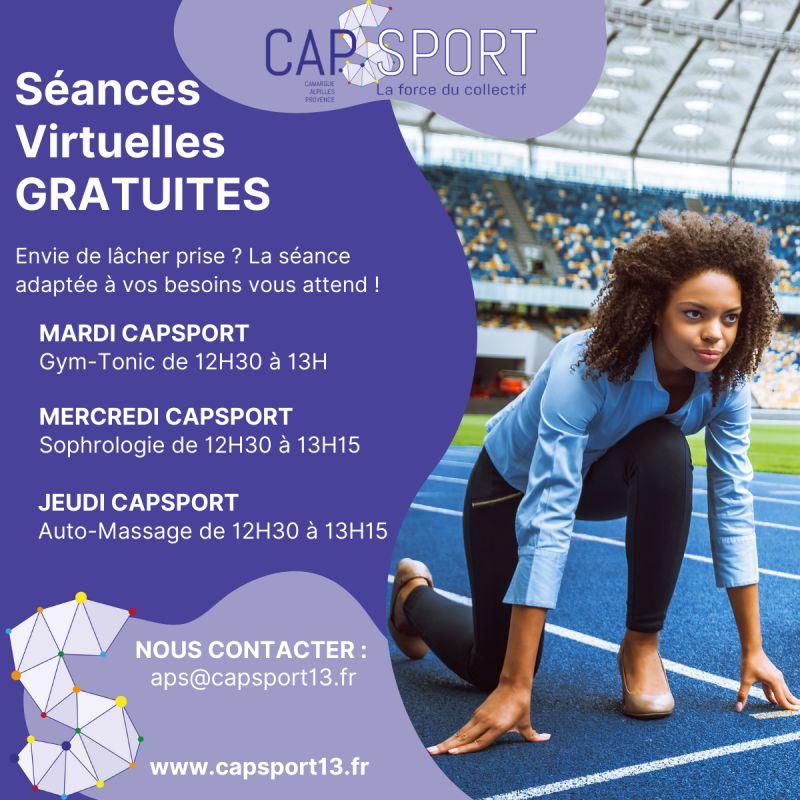You are currently viewing Séances Virtuelles Gratuites Capsport